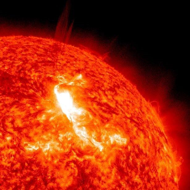 Bề mặt của mặt trời.