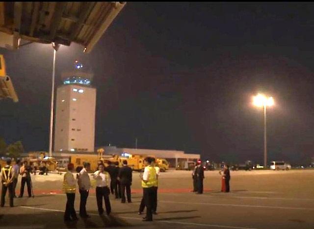 Sự cố mất điện tại sân bay Tân Sơn Nhất được xác định là gây nguy cơ mất an ninh an toàn hàng không tại Tân Sơn Nhất. (Ảnh Châu Như Quỳnh).