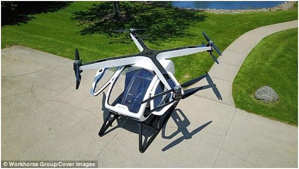 Mỹ công bố ý tưởng mẫu trực thăng cá nhân mới cho tương lai - 1