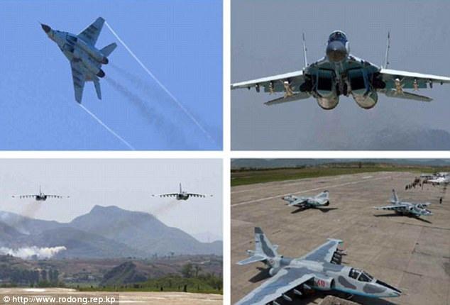 Truyền thông Triều Tiên dẫn lời chỉ huy lực lượng không quân cho biết mục đích của cuộc thi lần này ngoài giúp Không quân Triều Tiên luyện tập khả năng phá hủy các mục tiêu còn giúp khích lệ tinh thần của các đơn vị khác trong quân đội Triều Tiên. (Ảnh: Rodong Sinmun)