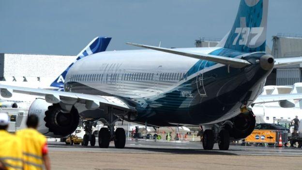 Boeing dự kiến sẽ trình làng phiên bản mới của mẫu máy bay 737 tại triển lãm hàng không Paris năm nay (Ảnh: BBC)