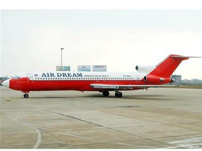 Chiếc Boeing 727-200 bị bỏ rơi ở sân bay Nội Bài đã 10 năm (ảnh: Tiền phong)