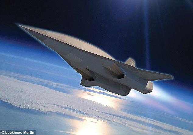 Ảnh minh họa SR-72 (Ảnh: Lockheed Martin)