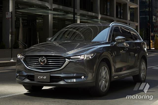Mazda CX-8 bắt đầu cuộc chơi - 1