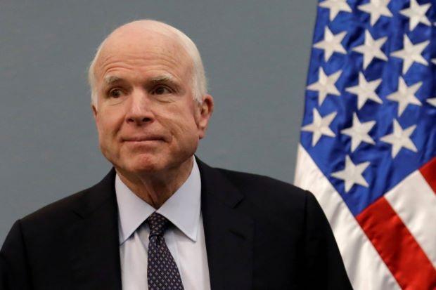 Thượng nghị sĩ John McCain (Ảnh: Reuters)