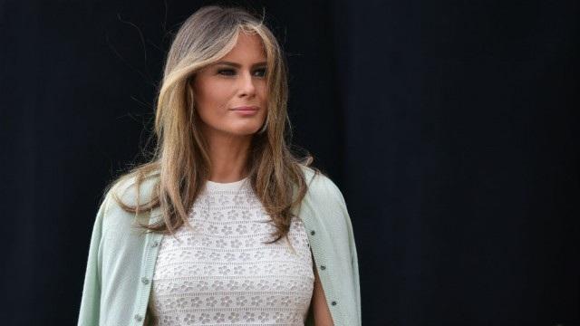 Đệ nhất phu nhân Mỹ Melania Trump. (Ảnh: Getty)