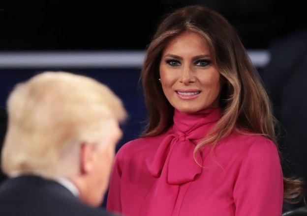 Bà Melania Trump cũng là một đệ nhất phu nhân đặc biệt (Ảnh: SCOTT OLSON)