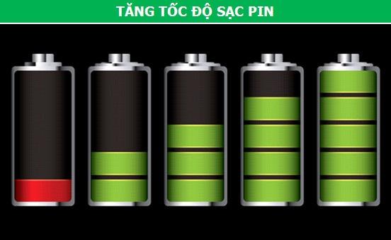 Để tăng tối đa tốc độ sạc pin, bạn nên tắt tất cả các tác vụ đang chạy ngầm trong máy, bật chế độ máy bay hay thậm chí là tắt nguồn điện thoại, nhằm mục đích giảm thiểu tối đa nguồn năng lượng tiêu thụ. Từ đó, pin sẽ đầy nhanh hơn.