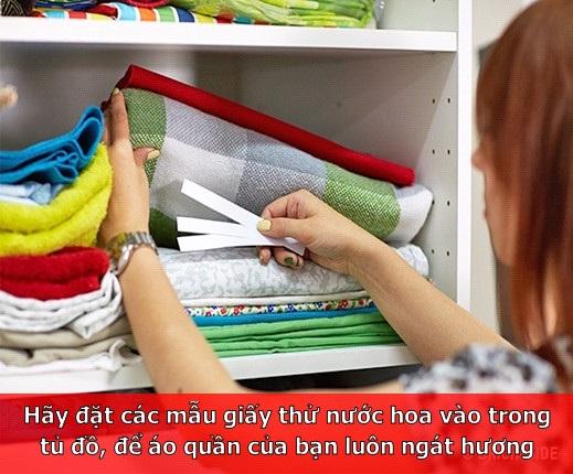 Giúp tủ quần áo luôn ngát hương