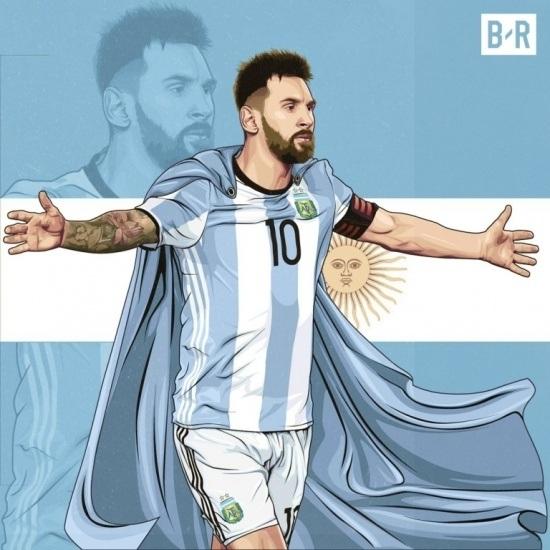 Messi như đấng cứu thế với đội tuyển Argentina