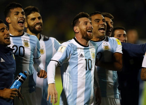 Cầu thủ này đã tỏa sáng rực rỡ giúp Argentina giành vé dự World Cup 2018 vào phút chót