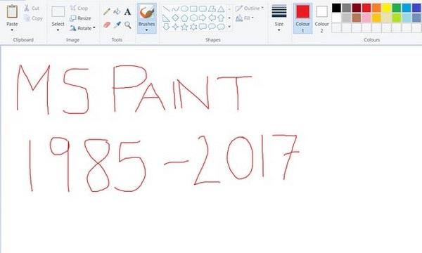 """Phần mềm Paint sẽ bị Microsoft """"khai tử"""" sau 32 năm gắn bó với các phiên bản của Windows"""