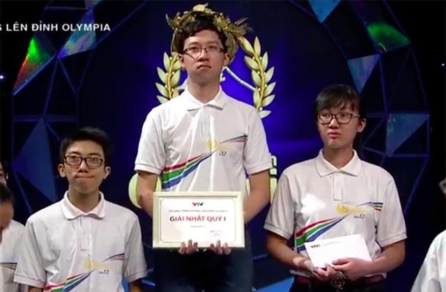 Nhật Minh đội Vòng nguyệt quế ở cuộc thi Quý I
