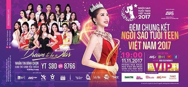 Háo hức đón đợi đêm chung kết hoành tráng Miss Teen 2017 - 1
