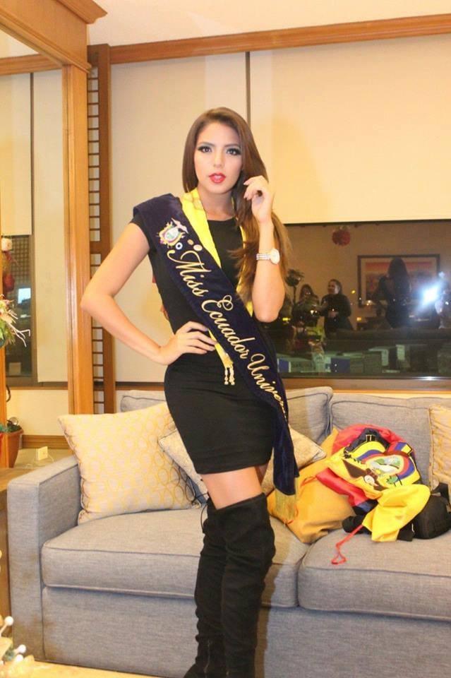 Hoa hậu Ecuador tại Philippines tham dự cuộc thi Hoa hậu Hoàn vũ 2016