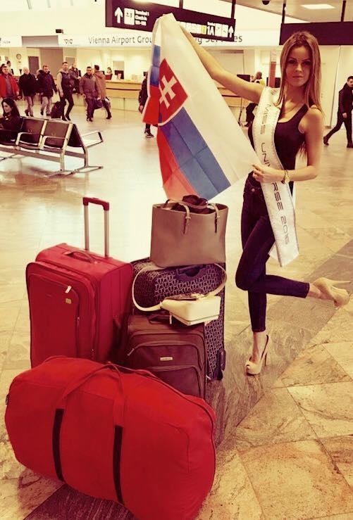 Hoa hậu Cộng hòa Slovak - Zuzana Kollarova