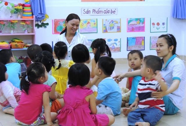 Giáo viên mầm non ở TPHCM sẽ được hỗ trợ theo trình độ chuyên môn