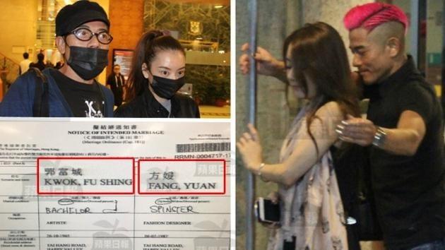 Lộ giấy đăng ký kết hôn của Quách Phú Thành và người mẫu kém 23 tuổi - Phương Viện.