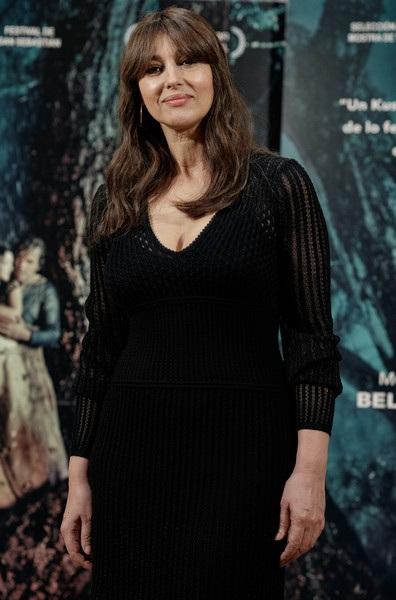Monica Bellucci rạng rỡ quảng bá phim mới On the Milky Road tại Madrid, Tây Ban Nha ngày 30/6 vừa qua