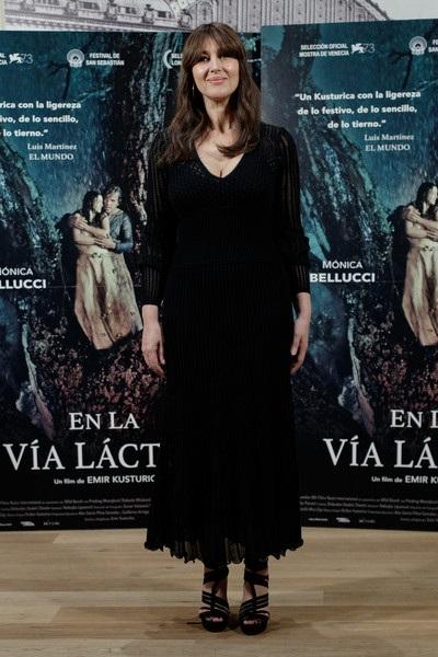 Monica Bellucci thường được coi là biểu tượng gợi cảm hàng đầu nước Ý từ hàng chục năm nay