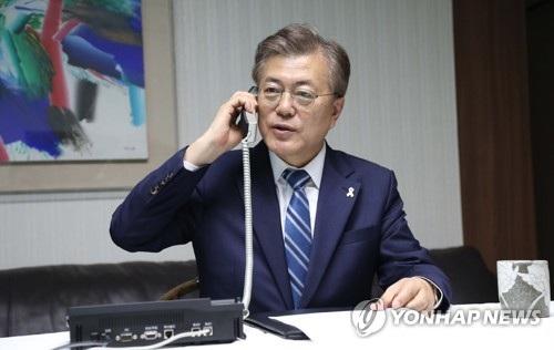 Nhiệm kỳ của ông Moon Jae-in thậm chí bắt đầu từ khi ông chưa tuyên thệ nhậm chức. (Ảnh: Yonhap)