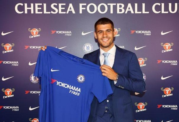 Morata sẽ nhận áo số 9 của Chelsea