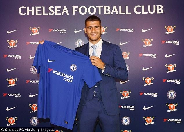 Morata chính thức là người của Chelsea