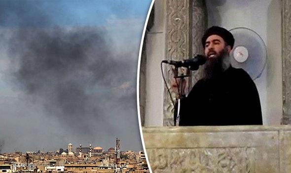 IS đang thất thế ở Mosul. (Ảnh: Express)