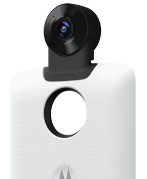 Phụ kiện Moto 360 Camera để mang chức năng quay phim, chụp ảnh 360 độ lên Z2 Force Edition