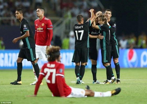 MU thua toàn diện trước Real Madrid