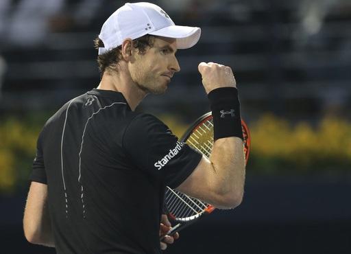 Murray giành chiến thắng khá may mắn