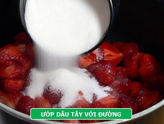 Làm mới vị Tết với mứt dâu tây hương vani - 3