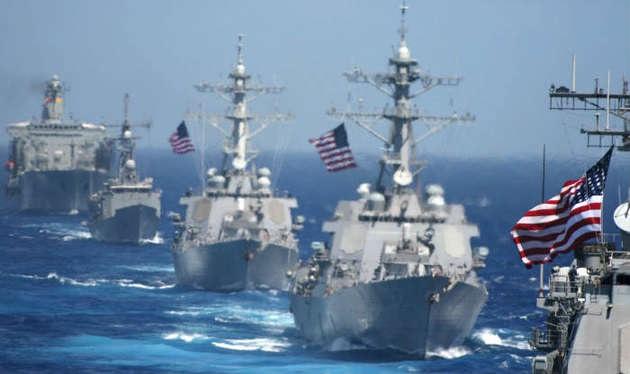 Biên đội tàu chiến của Hải quân Mỹ (Ảnh: US Navy)