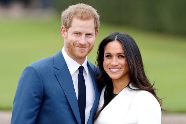 Hoàng tử Harry và vị hôn thê (Ảnh: Getty)