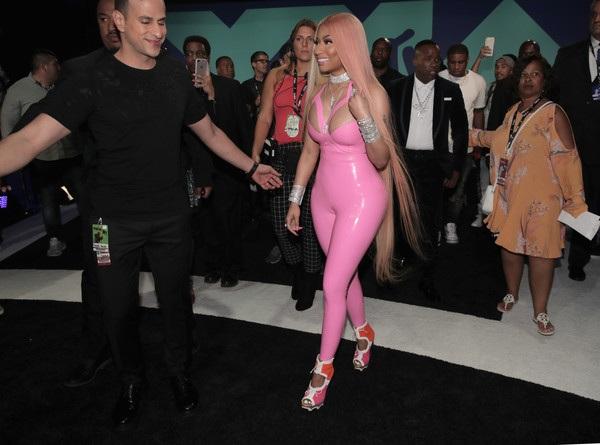 Nicki Minaj luôn là gương mặt không thể thiếu của các lễ trao giải