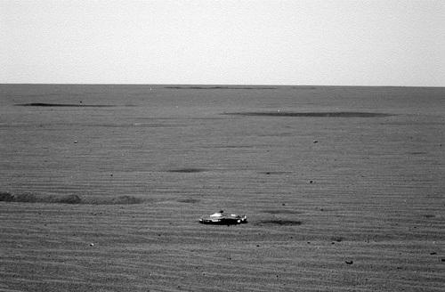 Bức ảnh gây tranh cãi của NASA.