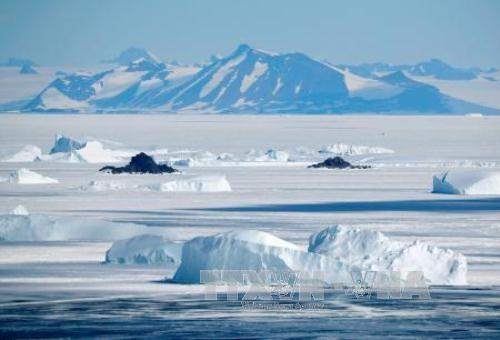 Băng tại lục địa Antarctica (Nam Cực). Ảnh: Kyodo/TTXVN.