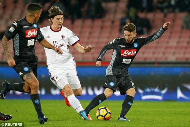 AC Milan thi đấu cực tệ trước các đội bóng lớn Serie A mùa này