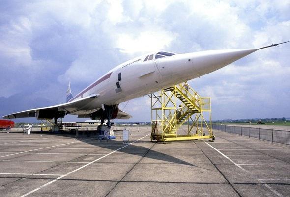 Chiếc Concorde thế hệ cũ.