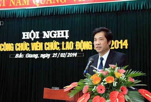 Ông Nguyễn Đức Đăng - Chánh văn phòng UBND tỉnh Bắc Giang (Ảnh: Cổng thông tin điện tử tỉnh Bắc Giang).