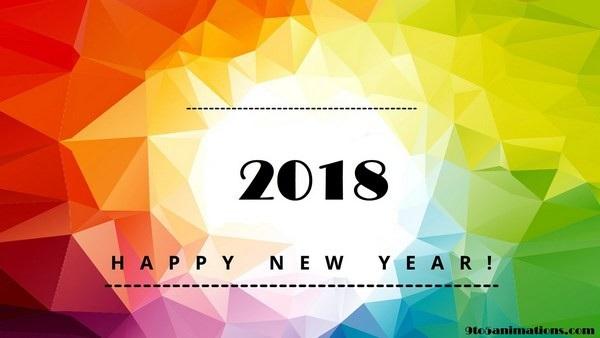 """Bộ ảnh đẹp """"Chúc mừng năm mới 2018"""" trên mạng xã hội - 1"""