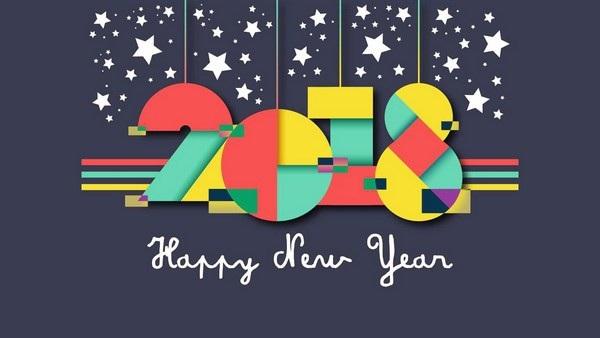 """Bộ ảnh đẹp """"Chúc mừng năm mới 2018"""" trên mạng xã hội - 3"""
