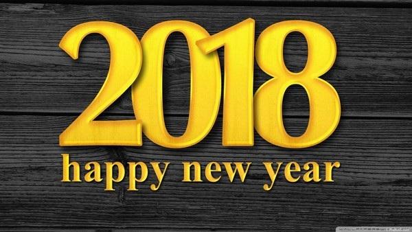 """Bộ ảnh đẹp """"Chúc mừng năm mới 2018"""" trên mạng xã hội - 4"""
