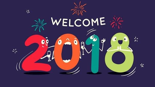 """Bộ ảnh đẹp """"Chúc mừng năm mới 2018"""" trên mạng xã hội - 6"""