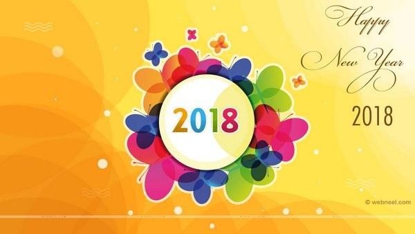 """Bộ ảnh đẹp """"Chúc mừng năm mới 2018"""" trên mạng xã hội - 7"""