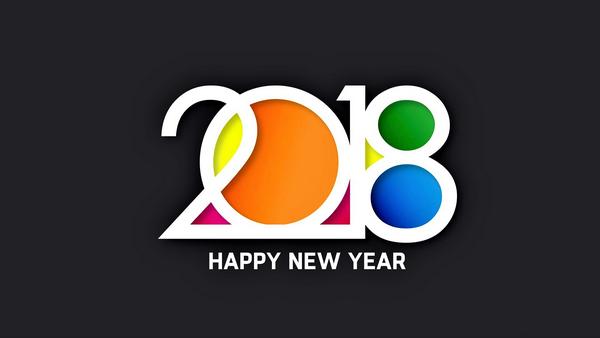 """Bộ ảnh đẹp """"Chúc mừng năm mới 2018"""" trên mạng xã hội - 8"""