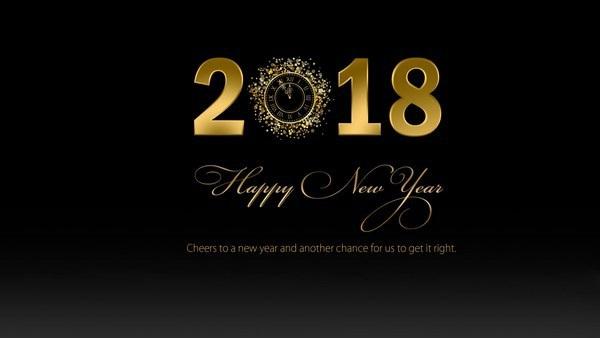"""Bộ ảnh đẹp """"Chúc mừng năm mới 2018"""" trên mạng xã hội - 10"""