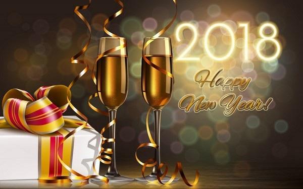 """Bộ ảnh đẹp """"Chúc mừng năm mới 2018"""" trên mạng xã hội - 11"""