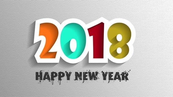 """Bộ ảnh đẹp """"Chúc mừng năm mới 2018"""" trên mạng xã hội - 12"""