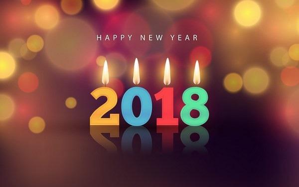 """Bộ ảnh đẹp """"Chúc mừng năm mới 2018"""" trên mạng xã hội - 13"""